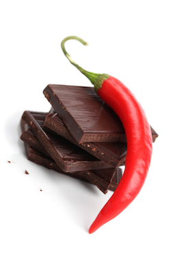 Chili and chocolate